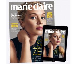 Roční předplatné Marie Claire (PAPÍR + DIGI)