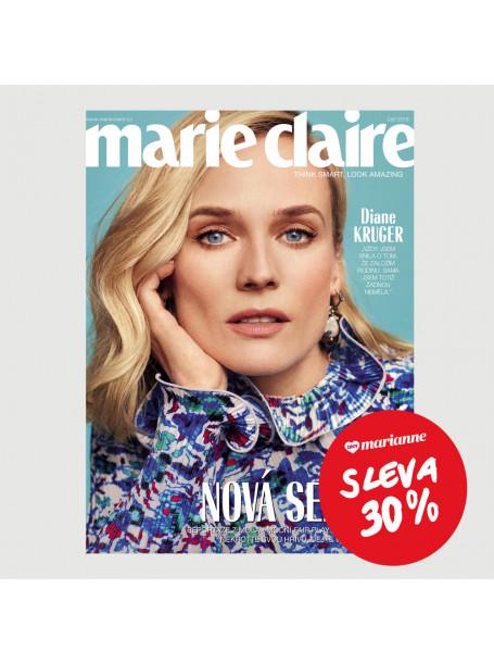 DNY MARIANNE: Roční tištěné předplatné Marie Claire se slevou 30%