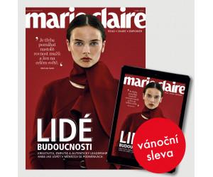 Vánoční roční  kombinované předplatné Marie Claire (tištěné + digi)