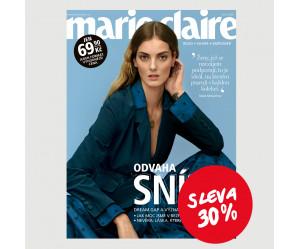 Roční tištěné předplatné Marie Claire se slevou 30%