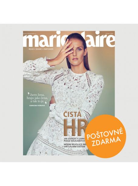 Aktuální vydání Marie Claire 4/2020 + SLEVOVÉ KUPONY SHOPPING FEVER - POŠTOVNÉ ZDARMA (pouze pro ČR)