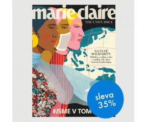 Půlroční tištěné předplatné Marie Claire se slevou 35 %