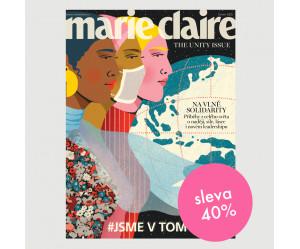 Roční tištěné předplatné Marie Claire se slevou 40%