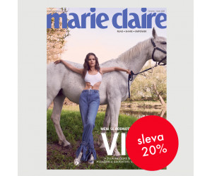 Čtvrtletní tištěné předplatné Marie Claire na zkoušku se slevou 20 %