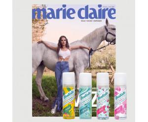 Aktuální vydání Marie Claire 7-8/2020 + 1x SUCHÝ ŠAMPON BATISTE (POŠTOVNÉ ZDARMA, pouze pro ČR)